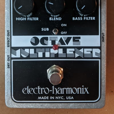 Electro-Harmonix Octave Multiplexer XO Analog Sub-Octave Generator