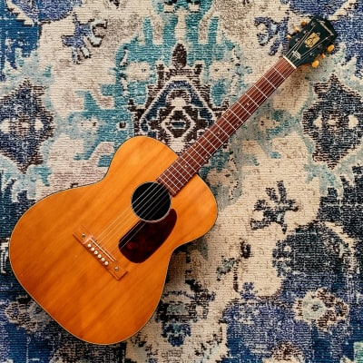 1963 Harmony H162 Grand Concert Solid Wood Acoustic Guitar for sale