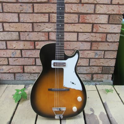 Harmony Stratotone Mars H-45 1950 Sunburst Guitar for sale