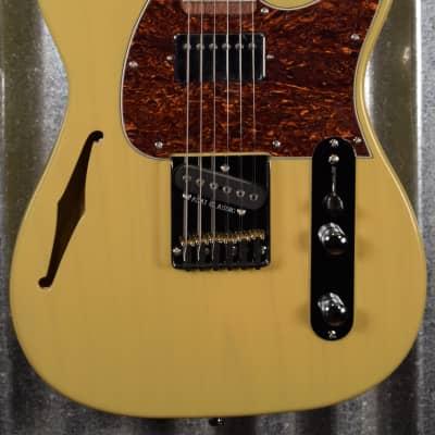 G&L Tribute ASAT Classic Bluesboy Semi Hollow Blonde Guitar #2062 Demo for sale
