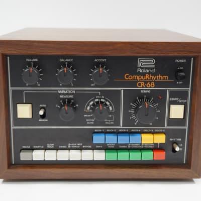 Roland CR-68 CompuRhythm Analog Drum Machine Vintage Rhythm Box
