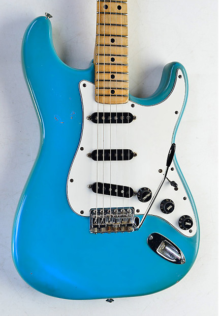 1979 fender stratocaster maui blue rare international series reverb. Black Bedroom Furniture Sets. Home Design Ideas