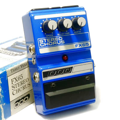 DOD FX65 Stereo Chorus with Original Box & Papers *FREE Worldwide Shipping* for sale