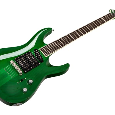 ESP Stephen Carpenter STEF-6 CS STG - See Thru Green - Custom Shop for sale