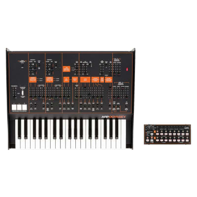 Korg ARP Odyssey FSQ Rev 3 - Full Sized Duophonic Synthesizer with SQ-1 [Three Wave Music]