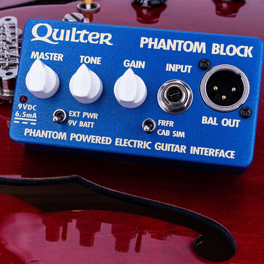 Quilter Phantom Block Phantom Powered Electric Guitar Interface