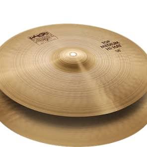 """Paiste 14"""" 2002 Medium Hi-Hat Cymbals (Pair)"""
