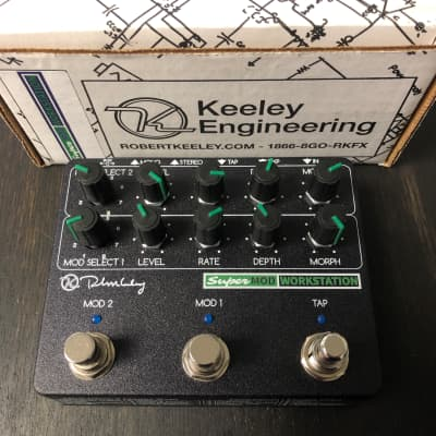 Keeley Super Mod Workstation B-Stock *Authorized Keeley Dealer* *Free Priority Same Day Shipping*