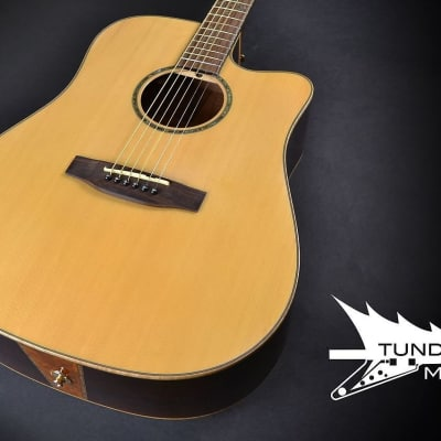 Takamine EG363S Dreadnought Acoustic - Natural (462) for sale