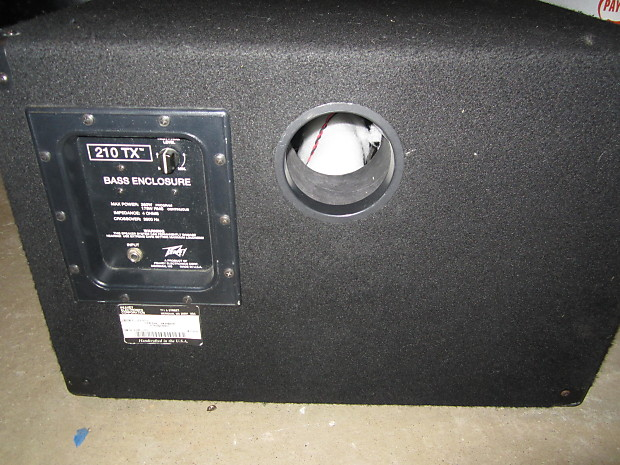 2 Kias For The Price Of One >> Peavey 210TX 2X10 Bass Cabinet Amplifier | Reverb