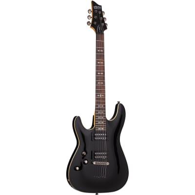 Schecter Omen-6 Gloss Black BLK LH B-Stock Electric Guitar Omen 6 Left Handed for sale