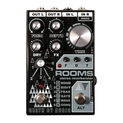 Death By Audio - ROOMS