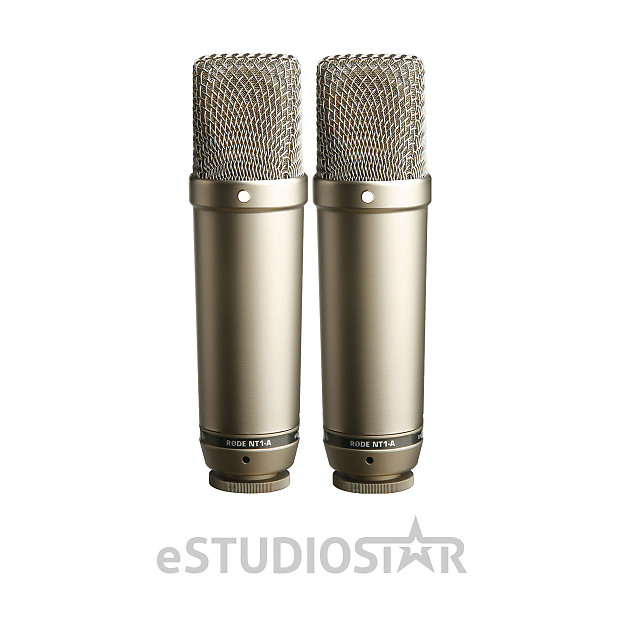 rode nt1 a matched pair condenser microphones used open box reverb. Black Bedroom Furniture Sets. Home Design Ideas