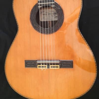 Francisco Montero Aguilera Classical Guitar 1983 French Polish for sale