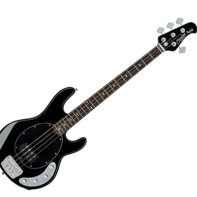 Sterling by Music Man RAY34-BK StingRay in Black B-Stock for sale