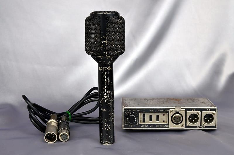 Sanken CMS-7 MS Stereo Condenser Microphone Set S/N 3078