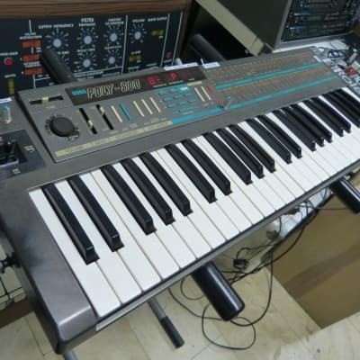 Korg Poly-800 Polyphonic Analog Synthesizer with Polybeast & Data Entry Knob mods