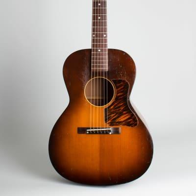 Kalamazoo  KG-14 Flat Top Acoustic Guitar (1940), ser. #1457 F-37 (FON), black hard shell case. for sale