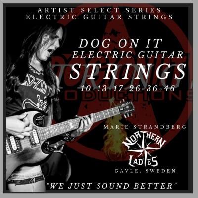 Dog On It Strings Marie Strandberg  Artist Signature Series 10'S -: 10-13-17-26-36-46 for sale