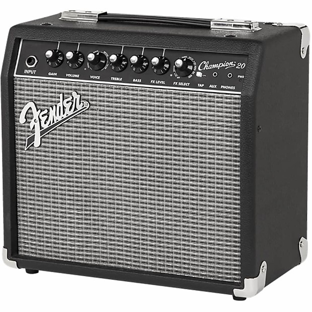 Fender Champion 20 Guitar Combo Amp Review : fender champion 20 20w 1x8 single channel guitar combo reverb ~ Vivirlamusica.com Haus und Dekorationen