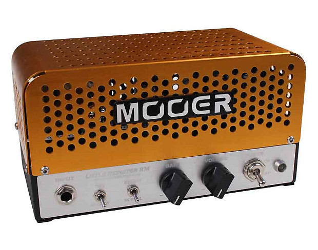 mooer audio little monster bm 5w boutique hand made tube bass reverb. Black Bedroom Furniture Sets. Home Design Ideas