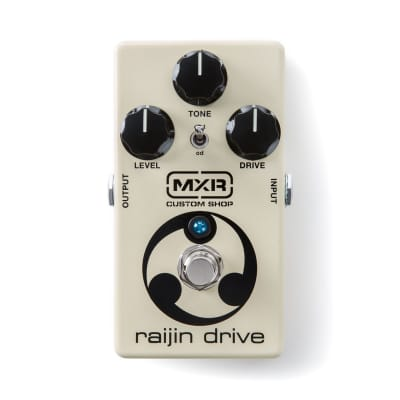 NEW MXR CSP037 Raijin Drive  Overdrive and Distortion Guitar Effects Pedal