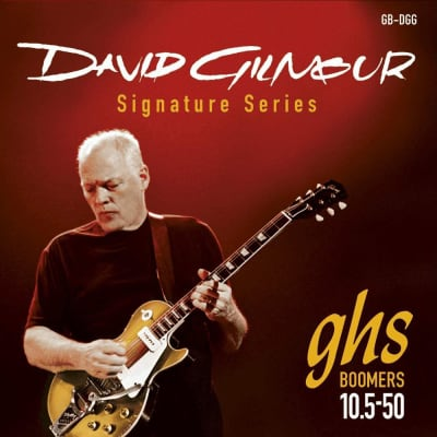 GHS  David Gilmour Signature Series Guitar Strings GB-DGG Red 10.5-50