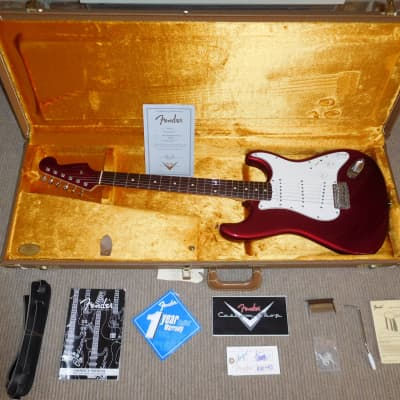 Fender Stratocaster Custom Shop 2005 60's reissue NOS Candy Apple Red Near Mint for sale