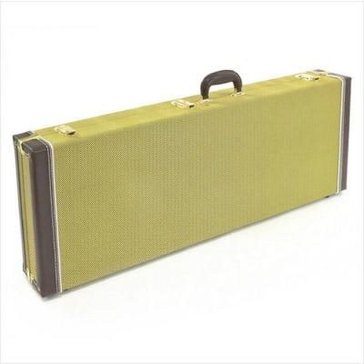 MEC TWEED BASS GUITAR CASE Tweed fits Fender,Rickenbacker,Ibanez, etc $75 with Purchase of Bass image