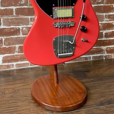 Prisma Guitars Sunset Custom, Red, Light Relic, Mojo UK Gold Foil's, New 2020 (Authorized Dealer) for sale