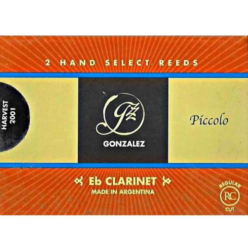 Gonzalez Eb Clarinet Reeds Strength 2, Box of 2