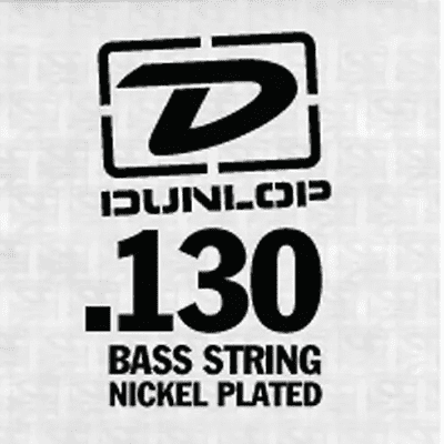 Dunlop DBN130T Nickel Wound Tapered Bass String - 0.13