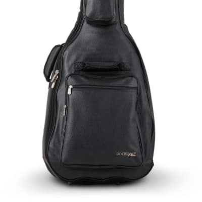 RockBag Artificial Leather Acoustic Guitar Gig Bag Black