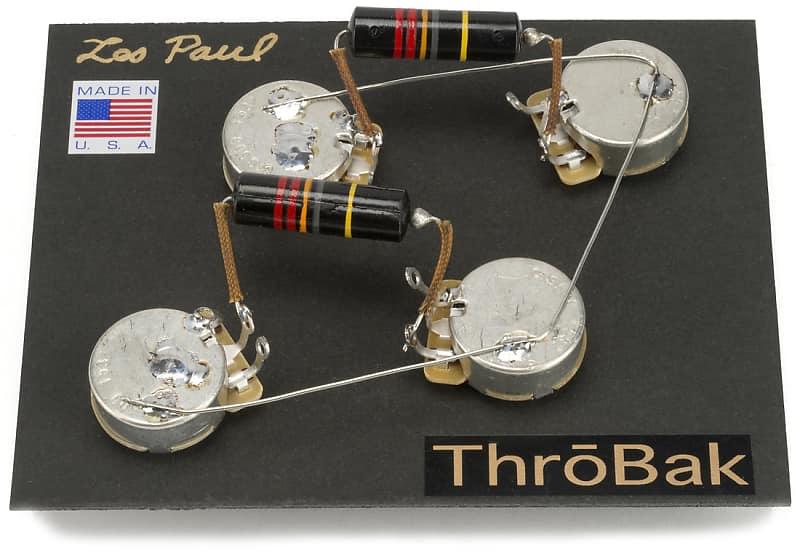 Throbak 50 S Les Paul Wiring Harness, Gibson 50s Wiring