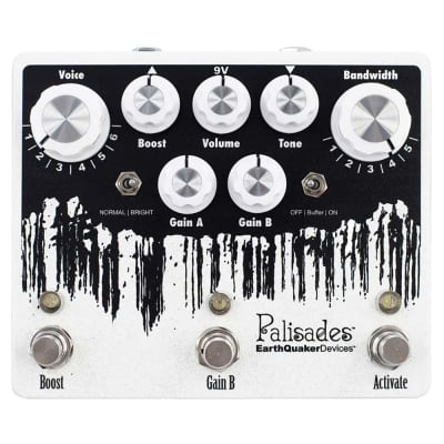EarthQuaker Devices Palisades V2 Overdrive True Bypass Guitar Effects Pedal