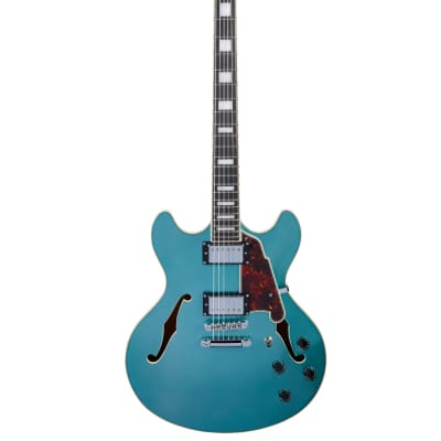 D'Angelico Premier DC Stoptail Ocean Turquoise for sale