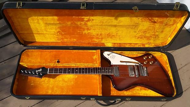 Gibson Firebird III Extra rare 1965 Sunburst | Neal's | Reverb