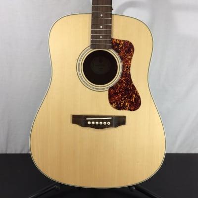 Guild 383-0404-921 Guild D-240E Dreadnought Acoustic Electric Guitar, Natural - Customer Return