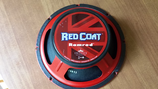 Eminence Red Coat Ramrod 10