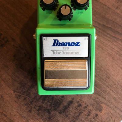Ibanez TS9 Tube Screamer Green TS-9 Tubescreamer for sale