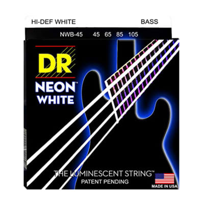 DR NWB-45 Hi-Def Neon Bass Strings - Medium (45-105)