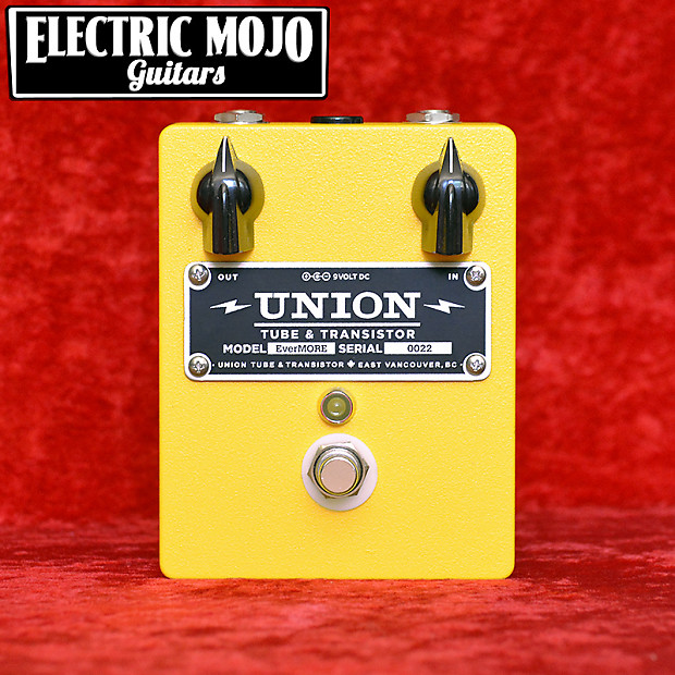 union tube transistor evermore preamp boost pedal reverb. Black Bedroom Furniture Sets. Home Design Ideas