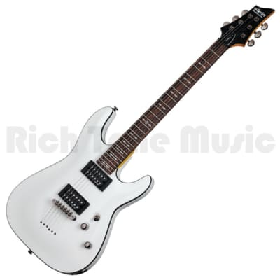 Schecter Omen-6 Electric Guitar - Vintage White for sale