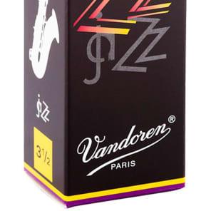 Vandoren SR4235 ZZ Tenor Sax Reeds - Strength 3.5 (Box of 5)