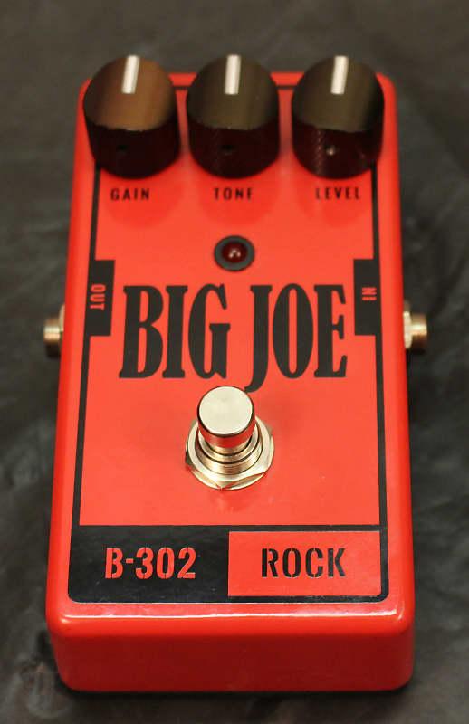 Used Big Joe Stomp Box Company B-302 Rock   UptownMusicNW
