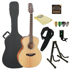 Takamine GN20 Nex Acoustic Guitar, Natural, with ChromaCast Acoustic Hard Case & Accessories for sale