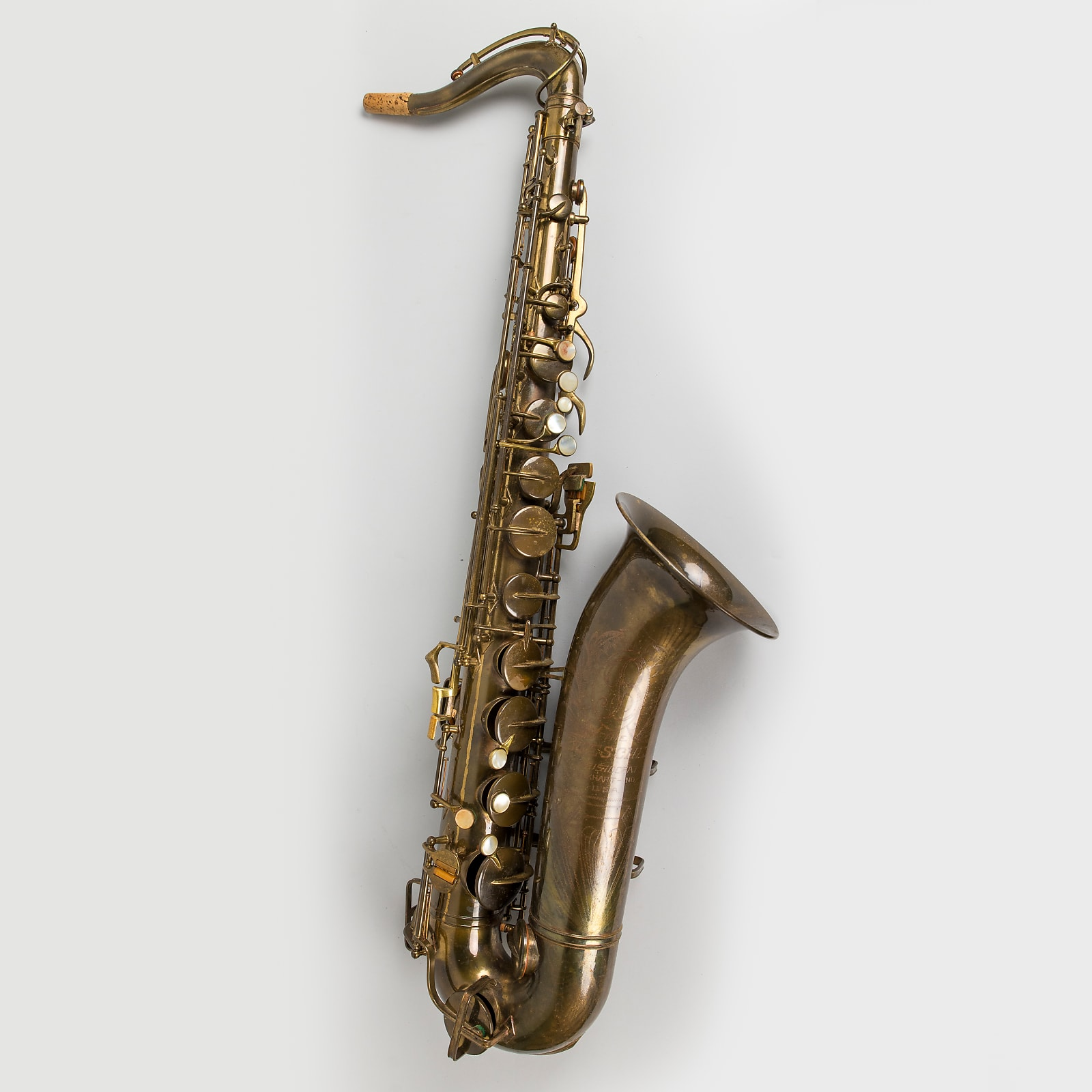 Vintage ~1948 Buescher Big B Tenor Saxophone