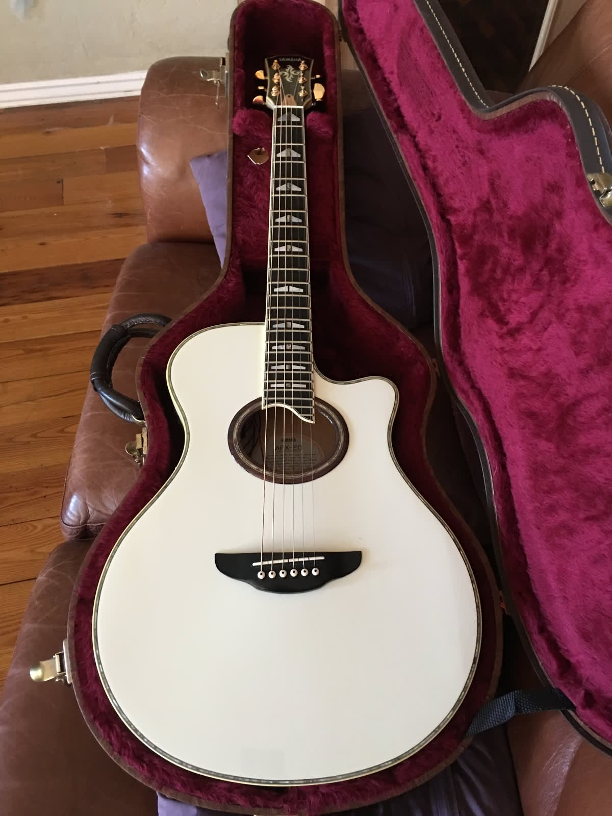 yamaha apx 20 acoustic electric guitar reverb