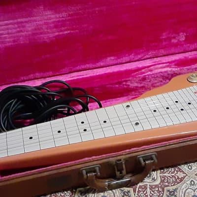Gibson Century STEEL GUITAR 1956 1957 Salmon Pink. VERY NICE!