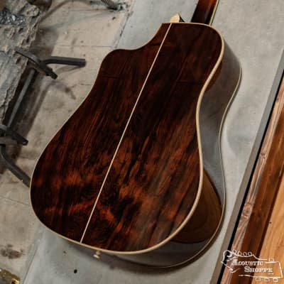 (Used) Noble Custom Cutaway Dreadnought Adirondack Spruce Top/Brazilian Rosewood Back & Sides for sale